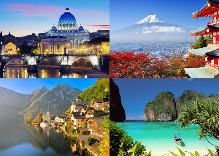 30 Negara paling banyak dikunjungi turis, Indonesia nomor berapa ya?