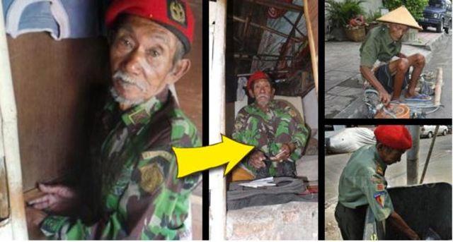 10 Foto miris orangtua sebatang kara tinggal di gubug, bikin nangis!