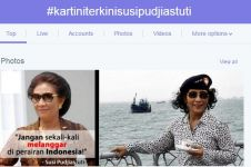 Cuitan kocak netizen tanggapi hashtag #KartiniTerkiniSusiPudjiastuti