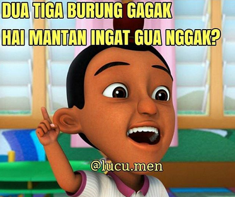 Meme Kocak Jarjit Berpantun Ria Awas Yang Jomblo Bakal Nyesek