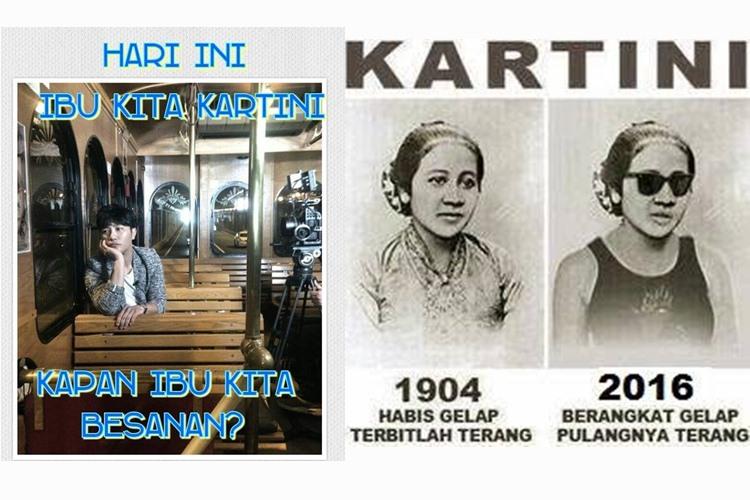 20 Meme peringatan Hari Kartini, dari bikin geli sampai trenyuh!