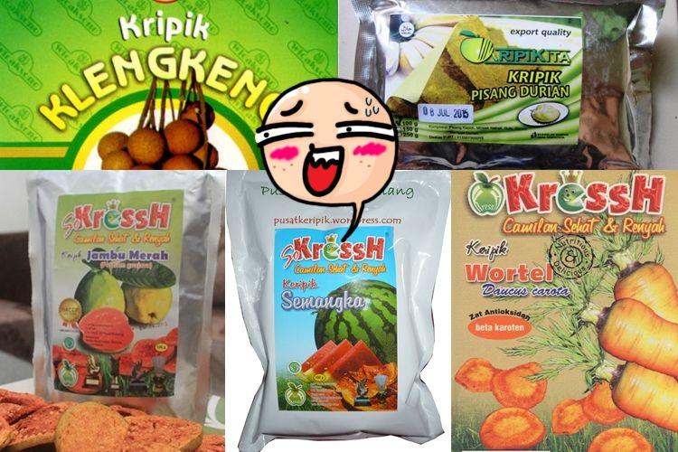 15 Camilan ini bukti Malang merupakan kota sejuta keripik buah, kriuk!