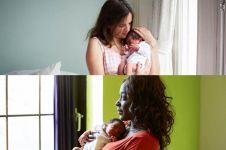 17 Foto wajah ibu sehari setelah melahirkan, bikin haru ya...