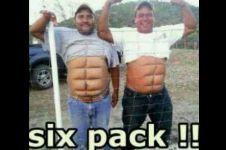 20 Meme cowok buncit VS six pack bikin ketawa geli, cewek pilih mana?