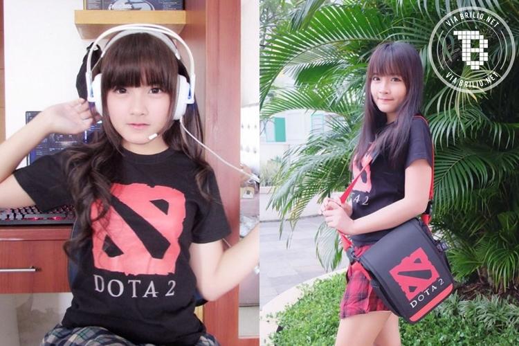 Donna Visca, si cantik gamer DotA bikin cowok pengen 'dimainin', aw!