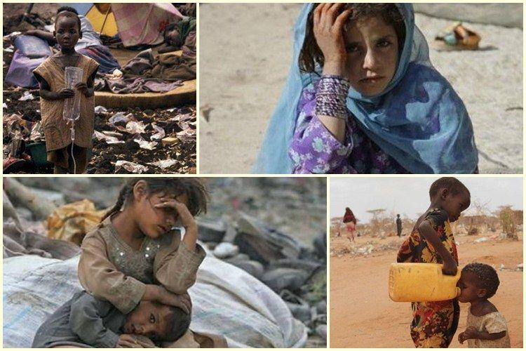 20 Foto  anak  anak  di negara miskin  ini bikin terenyuh
