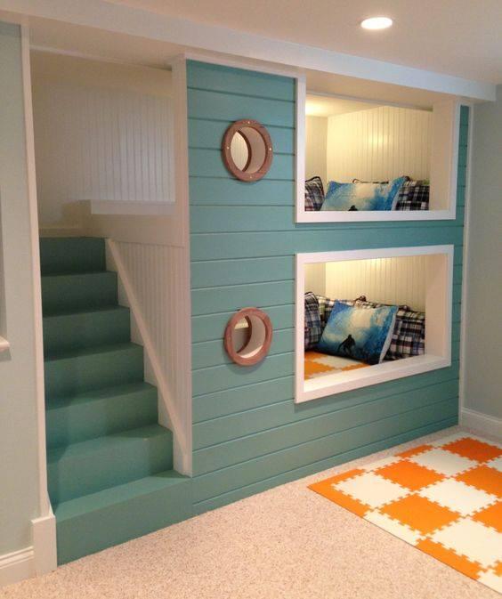 25 desain tempat tidur tingkat untuk kamu yang ingin. Black Bedroom Furniture Sets. Home Design Ideas
