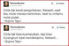 15 Quotes #Talijiwo ini dijamin bikin cewek klepek-klepek, aww!