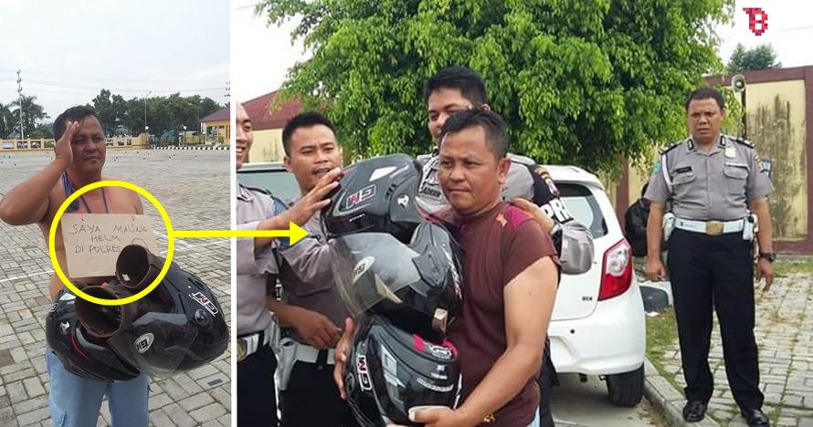 Maling ini nekat satroni kantor polisi, alasannya bikin geleng-geleng!