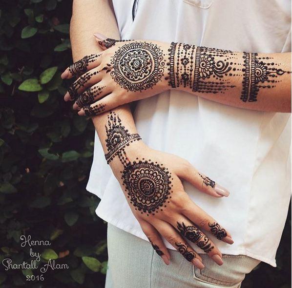 15 Desain Henna Ini Bisa Jadi Inspirasimu Buat Hari Pernikahan Na