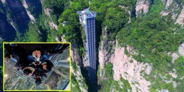 Secondary Bailong Elevator Wisata Lift Tertinggi Sejagat Yang Uji Nyalimu Ini Cara Nonton Piala Dunia