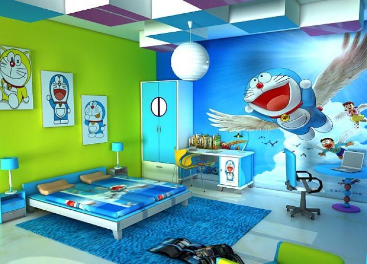 15 Dekorasi Rumah Berkonsep Doraemon Ini Unik Jadi Kangen
