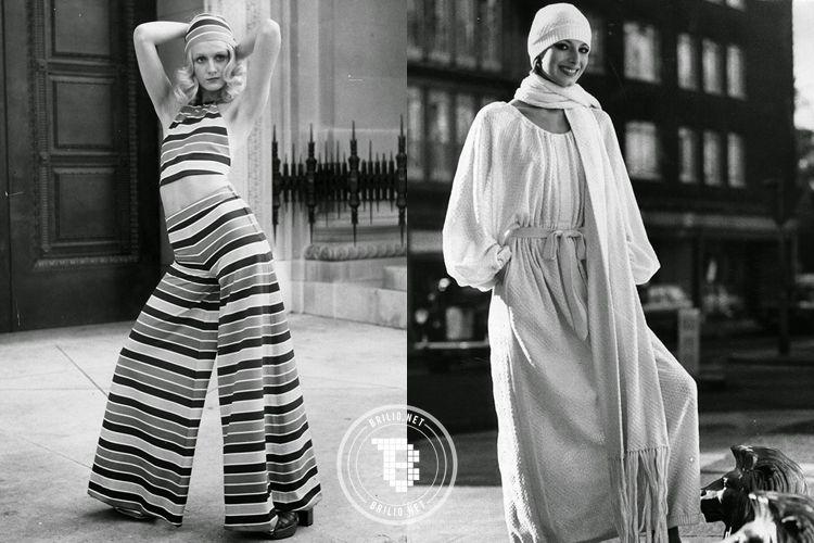 20 Gaya Fashion Wanita Era 70 An Ini Dijamin Bikin Kamu Kagum
