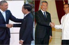 Cara salaman PM Singapura ini dianggap remehkan Jokowi, benarkah?