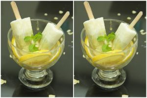 Cuaca panas gini, bikin Yummy Kiwi Vanila Popsicles, dijamin segar!