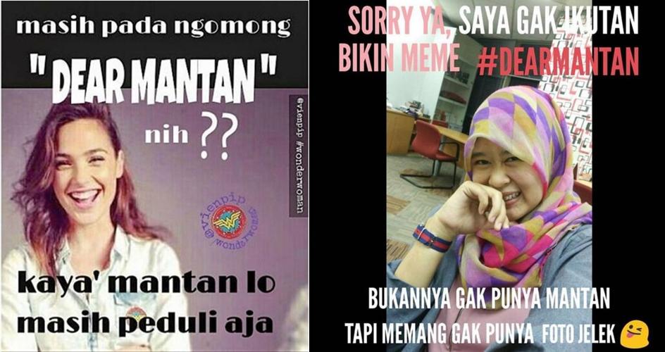 16 Meme lucu sindir tagar maaf untuk mantan, cie nggak terima ya!