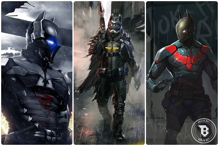 20 Kostum Batman ini ternyata jauh lebih keren daripada yang sekarang