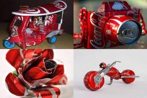 17 Cinderamata unik ini dibuat dari kaleng minuman bekas, kreatif ya!