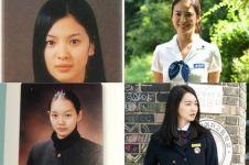 14 Foto artis K-Pop sebelum-sesudah terkenal saat berseragam sekolah