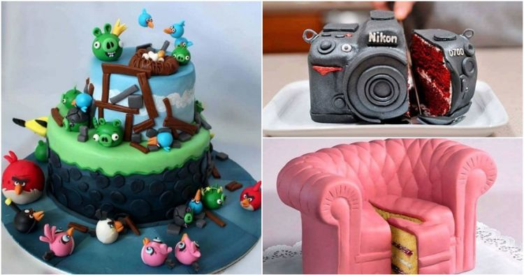 22 Desain kue ini bakal bikin kamu melongo, kreatif & realis banget!