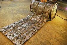 17 Ukiran logam ini bikin kamu terpana, benar-benar nggak nyangka!