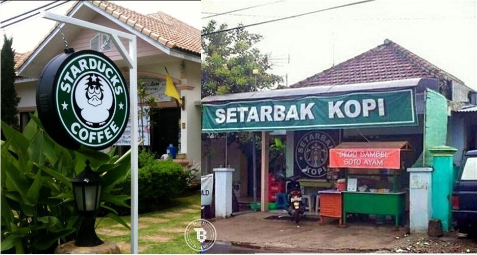 20 Pelesetan merek Starbucks ini bikin ngakak, awas salah tempat ngopi