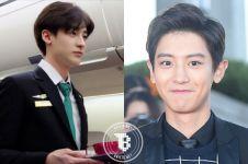 Pramugara ganteng mirip personel boyband EXO ini hebohkan netizen!