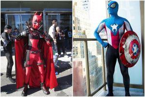 20 Cosplay ini keren, dua superhero digabung jadi satu seperti apa ya?