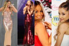 7 Fakta ini buktikan Ariana Grande cuma ikut-ikutan Mariah Carey