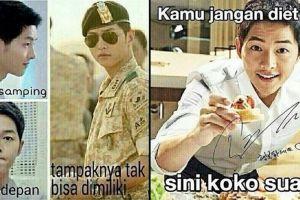 18 Meme lucu Song Joong Ki ini dijamin bikin kamu baper deh!