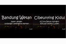 30 Pelesetan nama kecamatan di Bandung, lucu tapi bisa bikin baper euy