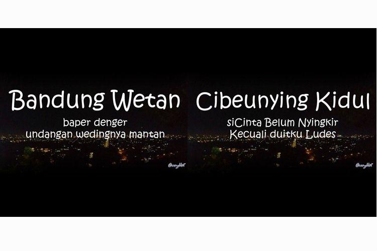 30 Pelesetan Nama Kecamatan Di Bandung Lucu Tapi Bisa Bikin Bape