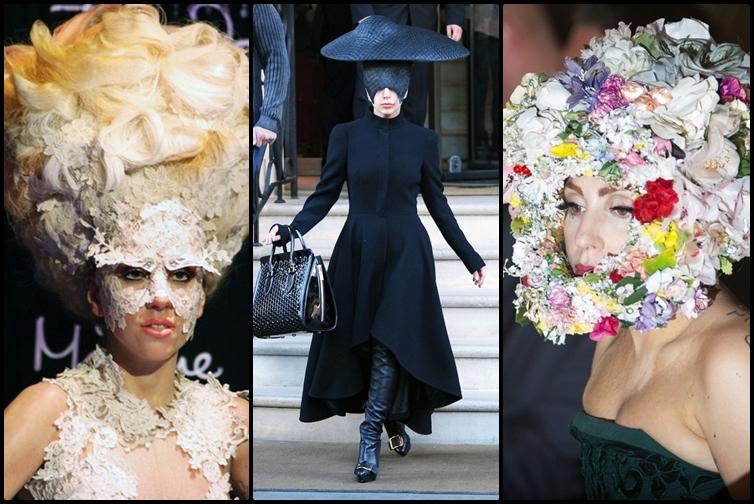 18 Gaya fashion Lady Gaga bikin gagal paham, kamu berani pakai?