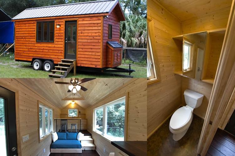 Truck house, rumah mini dari mobil bekas tapi tetep homey banget!