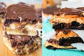 20 Varian brownies ini bikin ngiler lihatnya, rasanya jangan ditanya!