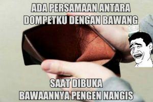 20 Meme isi dompet ini lucu abis, bikin kamu ketawa