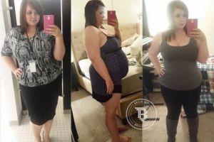 Dulu beratnya 125 kg, sekarang perempuan ini bak model!