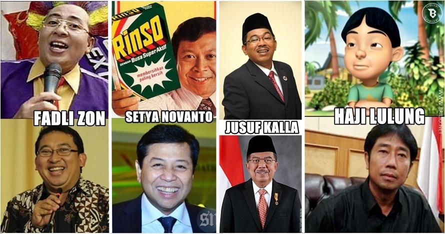 12 Orang ini punya wajah yang mirip banget tokoh dan pejabat Indonesia