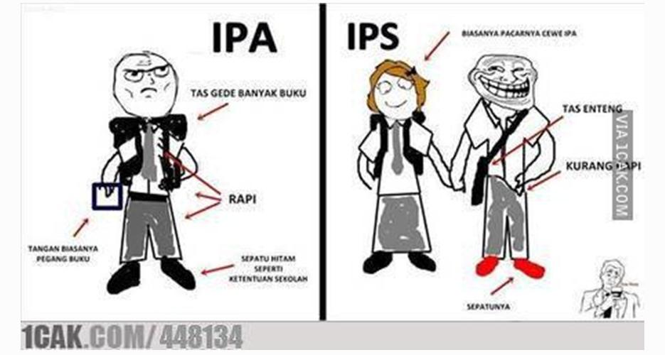 22 Meme lucu 'IPA vs IPS' yang bikin kamu terkenang masa-masa SMA
