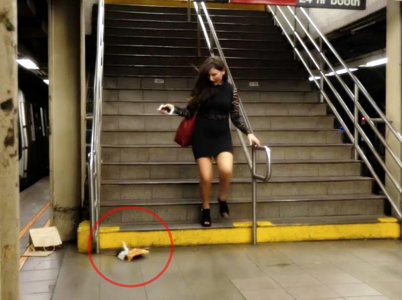 Stasiun kereta api bawah tanah ini ternyata banyak tikus, duh jorok!