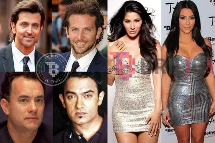 17 Wajah artis Bollywood ini ternyata juga mirip sama artis Hollywood