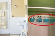 12 Trik menata barang biar kamar mandi sempitmu tampak luas