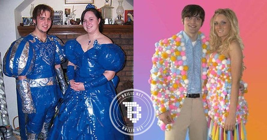 20 Pasangan dengan gaya fashion paling aneh, bikin gagal paham, duh!