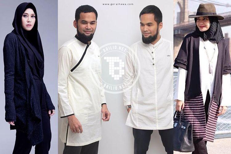 10 Artis ini bisnis busana muslim 324eb1fd31
