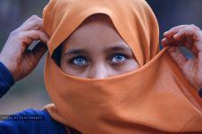 20 Foto warna mata anak-anak di Jalur Gaza, indah sekaligus menyentuh!