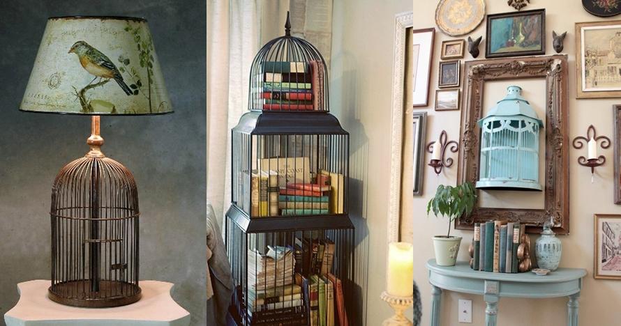 16 Interior rumah dari sangkar burung ini bikin kamu betah di rumah