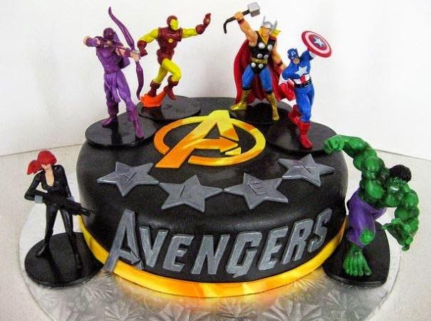 15 Kue Ultah Dengan Tema The Avengers Nggak Tega Memotongnya