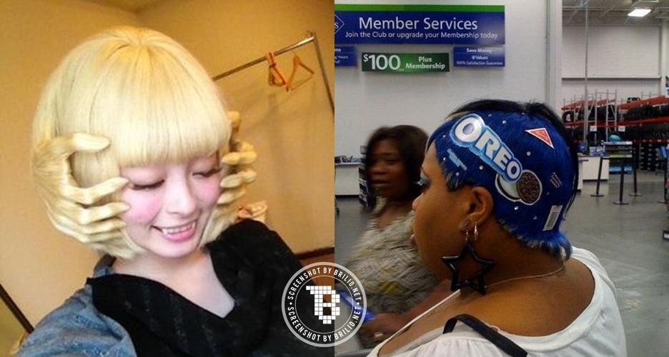 20 Tatanan rambut wanita ini bikin geleng-geleng kepala