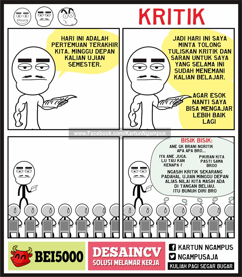 24 Komik Strip Kocak Kartun Ngampus Bikin Kamu Rindu Masa Kuliah