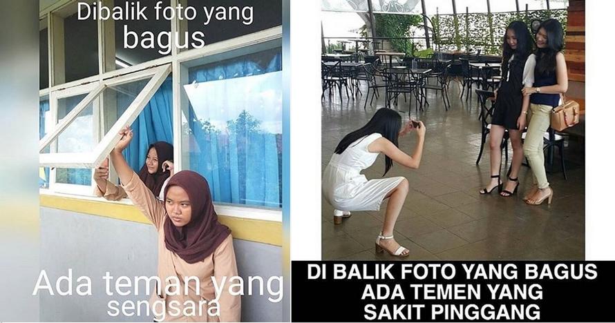 7 Gambar ini buktikan ada teman yang menderita di balik foto bagus!
